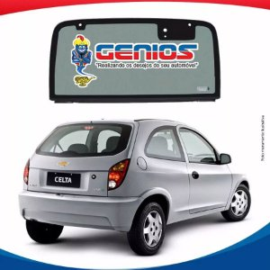 Vigia Liso Chevrolet Celta .../06 Vidro Traseiro