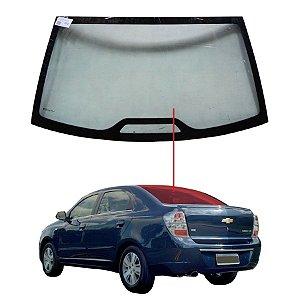 Vigia Liso Chevrolet Cobalt 12/15 Vidro Traseiro Com Breaklight