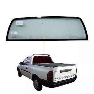 Vigia Liso Chevrolet Corsa Pick-up 96/01 Vidro Traseiro Inteiriço