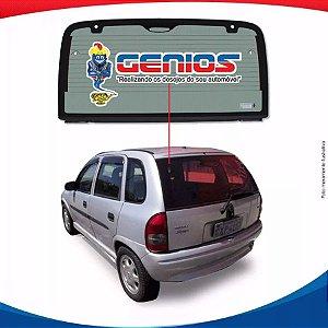 Vigia Térmico Chevrolet Corsa Hatch 5 Portas 96/00 Vidro Traseiro Com BreakLight Redondo