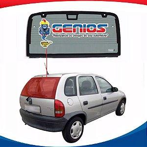Vigia Térmico Gm Corsa Hatch 5Pts 96/00 Vidro Traseiro Com BreakLight Quadrado