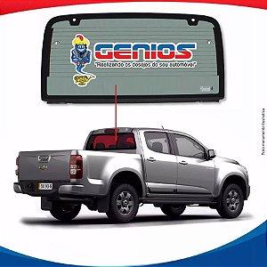 Vigia Térmico Chevrolet S-10 12/16 Vidro Traseiro Inteiriço