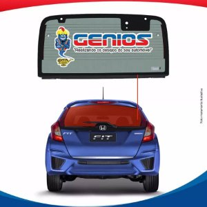 Vigia Térmico Honda New Fit 15/... Vidro Traseiro