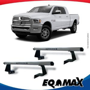 Rack Eqmax para Caçamba Dodge Ram 250 Aluminio Prata