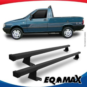 Rack Eqmax para Caçamba Fiat Fiorino Aço