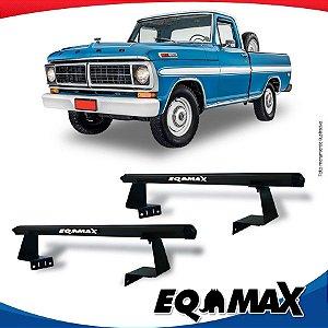 Rack Eqmax para Caçamba Ford F-100  Aluminio Preto
