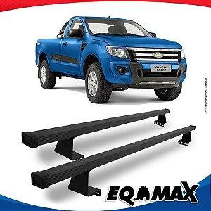 Rack Eqmax para Caçamba Ford Ranger Cabine Simples 13/16 Aço
