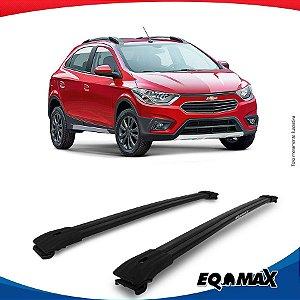 Big Travessa Larga Para Longarina Chevrolet Onix Activ Preto