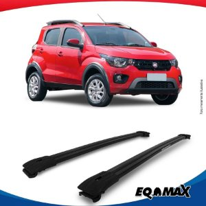 Big Travessa Larga Para Longarina  Fiat Mobi Way Preto