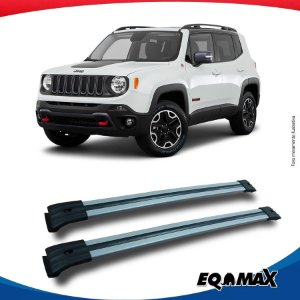 Big Travessa Larga Para Longarina Jeep Renegade Prata