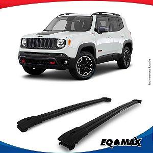 Big Travessa Larga Para Longarina Jeep Renegade Preto