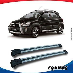 Big Travessa Larga Toyota Etios Cross Com Longarina Prata