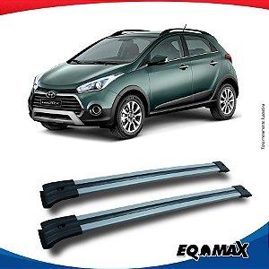 Big Travessa Larga Para Longarina Hyundai HB20X Prata