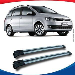 Big Travessa Larga Volkswagen Space Fox Com Longarina Prata