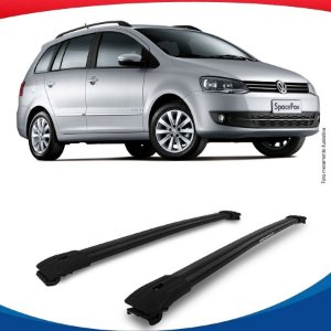 Big Travessa Larga Volkswagen Space Fox Com Longarina Preto
