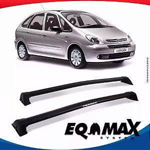 Rack de Teto  Eqmax Wave Preto Citroen Xsara Picasso 4 Pts 01/12