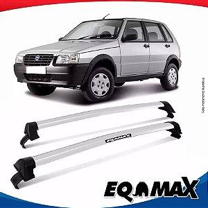 Rack Teto Eqmax Uno Mille 4 Portas 88/04 New Wave Prata