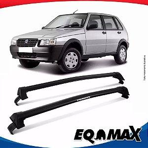 Rack Teto Eqmax Uno Mille 4 Portas 88/04 New Wave Preto