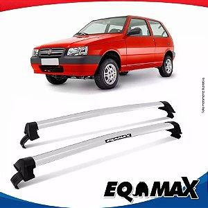 Rack Teto Eqmax Uno Mille 2 Portas 88/04 New Wave Prata