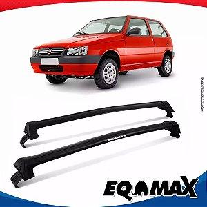 Rack Teto Eqmax Uno Mille 2 Portas 88/04 New Wave Preto