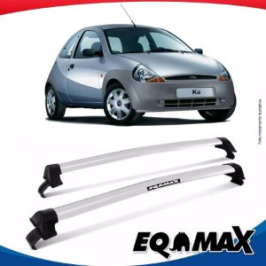 Rack Teto Eqmax New Wave Ford Ka 97/07 Prata