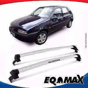 Rack Teto Eqmax Fiesta Street 96/06 New Wave Prata