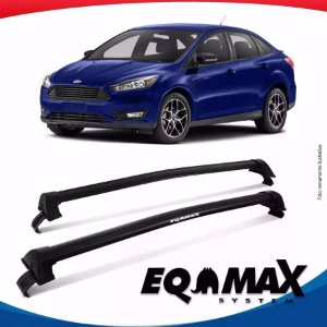Rack Teto Eqmax New Wave Ford Focus Sedan 14/16 Preto