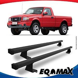 Rack Eqmax para Caçamba Ford Ranger Cabine Simples 96/11 Aço