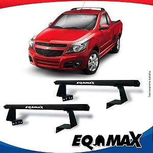 Rack Eqmax para Caçamba Chevrolet Tornado Aluminio Preto