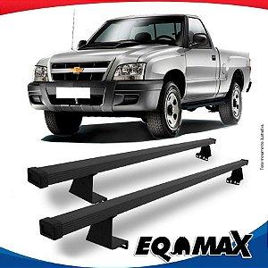 Rack Eqmax para Caçamba Chevrolet S10 Cabine Simples 94/11 Aço