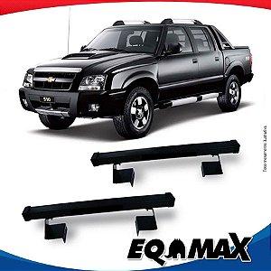 Rack Eqmax para Caçamba Chevrolet S10 Cabine Dupla 94/11 Aço