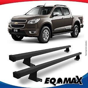 Rack Eqmax para Caçamba Chevrolet S10 Cabine Dupla 12/... Aço