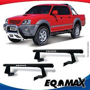 Rack Eqmax para Caçamba Mitsubishi L200 Sport Aluminio Preto