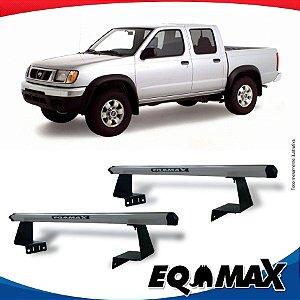 Rack Eqmax para Caçamba Nissan Frontier 98/04 Aluminio Prata