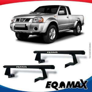 Rack Eqmax para Caçamba Nissan Frontier 03/07 Aluminio Preto
