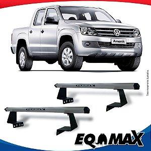 Rack Eqmax para Caçamba Volkswagen Amarok Aluminio Prata