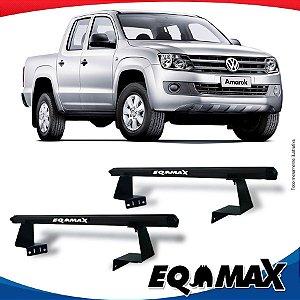 Rack Eqmax para Caçamba Volkswagen Amarok Aluminio Preto