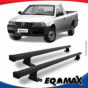 Rack Eqmax para Caçamba Volkswagen Saveiro G3 99/05 Aço