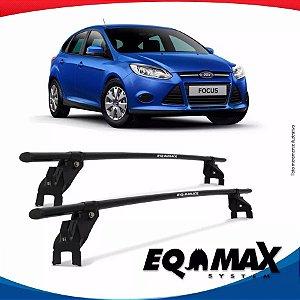 Rack Aço Teto Eqmax  Ford Focus 4 Pts Hatch 14/15