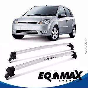 Rack Teto Eqmax New Wave Fiesta Hatch Rocan 03/16 Prata