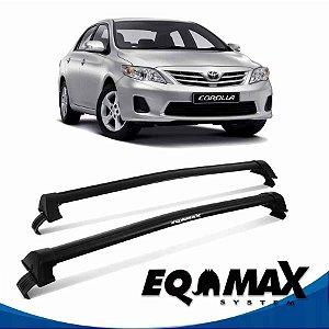 Rack Teto Eqmax New Wave Corolla 15/16 Bagageiro Preto