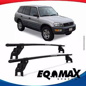 Rack Aço Teto Eqmax Toyota Rav4 99/01 Fixação Porta