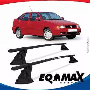 Rack Aço Teto Eqmax Vw Polo Classic 4 Portas 97/02