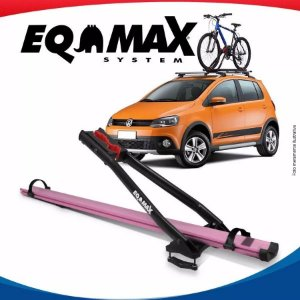 Suporte Bike Transbike Eqmax Velox Aluminio Rosa