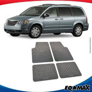 Tapete Borracha Eqmax Chrysler Caravan