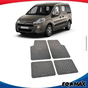 Tapete Borracha Eqmax Citroen Berlingo