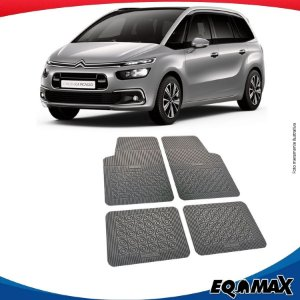 Tapete Borracha Eqmax Citroen C4 Grand Picasso