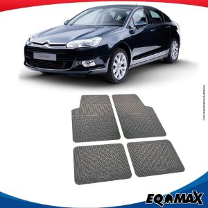 Tapete Borracha Eqmax Citroen C5 Sedan