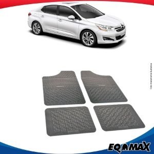 Tapete Borracha Eqmax Citroen C4 Pallas