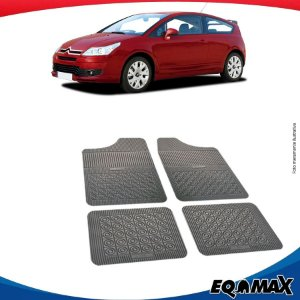 Tapete Borracha Eqmax Citroen C4 VTR